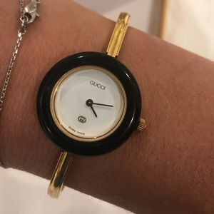 Vintage Gucci gold watch